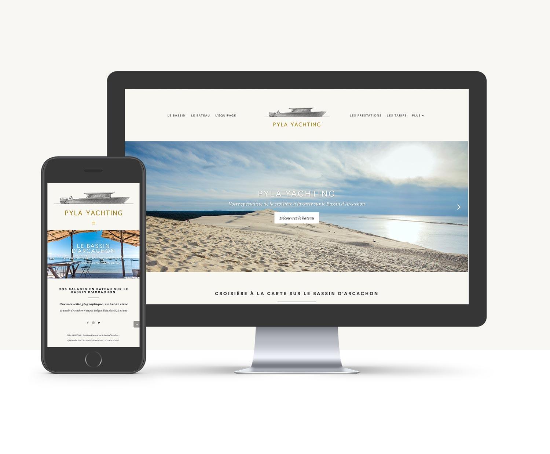 Pyla-Yachting-Website